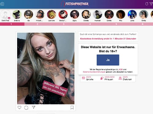 SM Chat von Fetishpartner